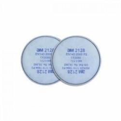 3M 2128 P2 Organik - Ozon Asit Gazı Filtresi 20li Paket