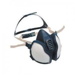 3M 4277 Org.-İnorg.- Asit Gaz/Buhar Maske (FFABE1P3D)