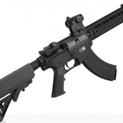 "BOLT Airsoft BR-47 9"" Railed B.R.S.S. Full Metal EBB Airsoft AEG Rifle (Color: Black) Havalı Tüfek"