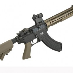 "BOLT Airsoft BR-47 13"" KeyMod QDC B.R.S.S. Full Metal EBB Airsoft AEG Rifle (Color: Tan) Havalı Tüfek"