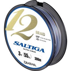 Daiwa Saltiga 12 Braid 300 mt Multicolor İp Misina